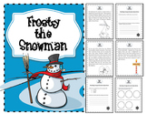 English Christmas Story Reading Comprehension - Frosty the Snowman