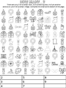 English - Christmas - word search, cross word and more puzzles