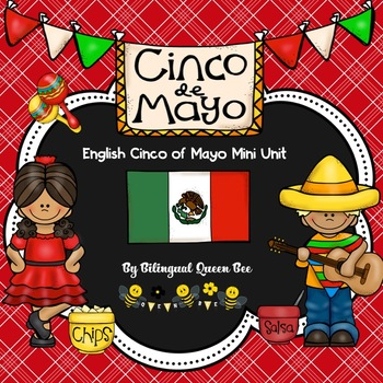 English Cinco De Mayo Mini Unit