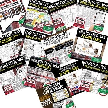 English Civil War BUNDLE (World History Bundle)