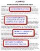 English Civil War: Interdependent Share-Sheets Activity