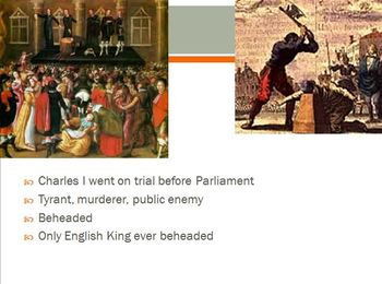 English Civil War, Louis XIV, and Peter the Great PowerPoint