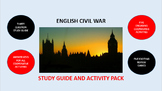 English Civil War: Study Guide and Activity Pack