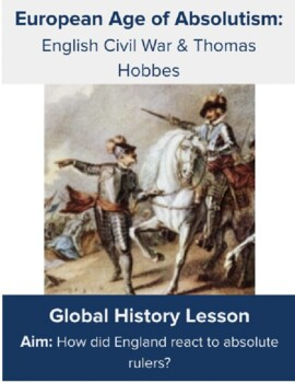 English Civil War & Thomas Hobbes