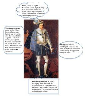 English Civil War Worksheet