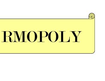 English Class Monopoly (Bookwormopoly)
