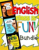 ENGLISH CLASS IS FUN BUNDLE! ELA GRADES 7-12: LESSONS, VIDEO, ACTIVITIES