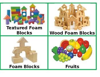 English Classroom Tools' Labels