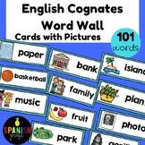 English Cognates Word Wall (Los cognados en ingles)