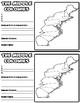 English Colonies Graphic Organizer
