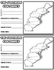 English Colonies Graphic Organizer