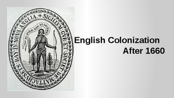 English Colonization After 1660