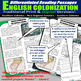 English Colonization Differentiated Reading Passages