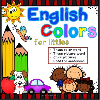 English Colors for Littles