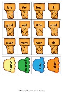 English-  Comparative and Superlative Adjectives