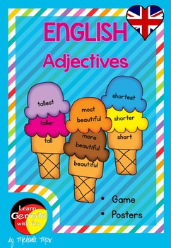 English-  Comparative and Superlative Adjectives