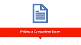 English Comparison Essay Writing Bare-Minimum Lesson PowerPoint
