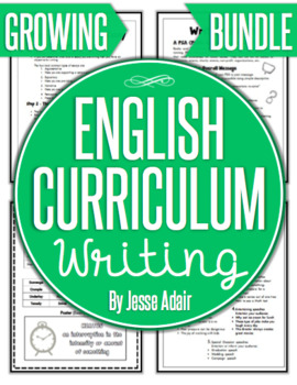 English Curriculum Writing