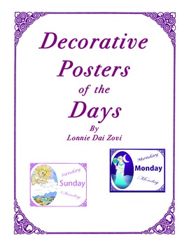 English Decorative Posters of the Days (And Their Origins)