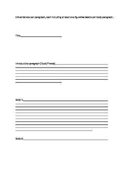 English Descriptive essay guide