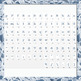 English Digital Letters, numbers and symbols decorate classroom - Lace Flower