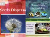 English/ELA + Science/Biology + Geography/Social Studies L