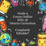 English ENG 1D Course Outline (Ontario Curriculum)