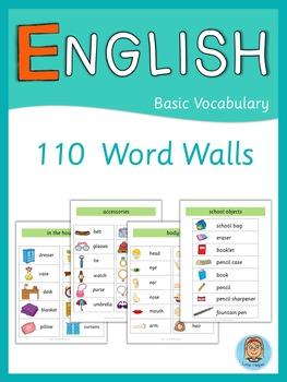 ESL Word Walls  Basic Vocabulary