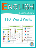 ESL Word Walls  Basic Vocabulary