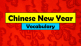 English (ESL) - Chinese New Year Vocabulary - PowerPoint + Flashcards