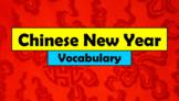 English (ESL) - Chinese New Year Vocabulary - PowerPoint +