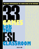 English ESL Classroom Activity & Games Book - 33 Games for