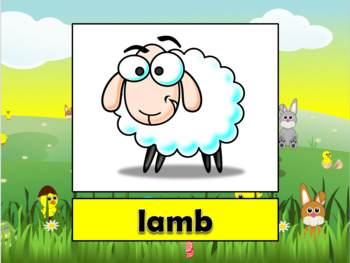English (ESL) - Easter Vocabulary - PowerPoint + Flashcards
