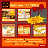 English, ESL - Halloween & Fall BUNDLE