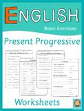 ESL Present Progressive Worksheets