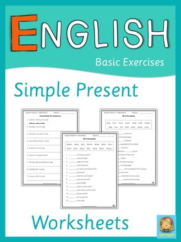 ESL Simple Present Worksheets