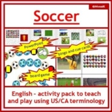 English, ESL: Soccer Activity Pack