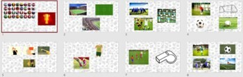 English, ESL: Soccer Activity Pack