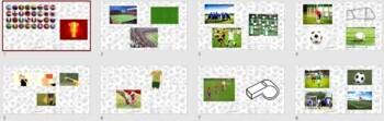English, ESL: Football Activity Pack