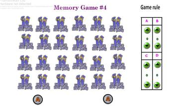 English End of the year memory game #4
