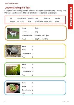 English Enrichment Level 1.2 - Our Pets