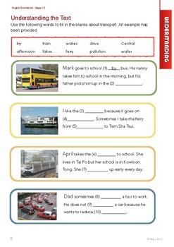 English Enrichment Level 1.3 - Transport