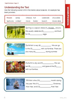 English Enrichment Level 1.4 - The Natural World