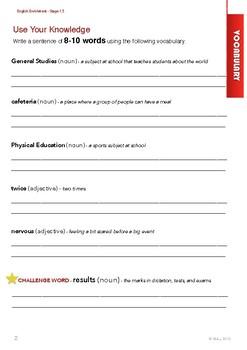 English Enrichment Level 1.5 - Daily Life (I) My School