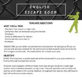 English Escape Room