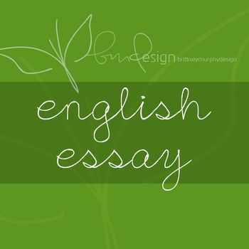 English Essay Font for Commercial Use