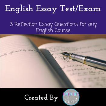 English Essay Test or Exam