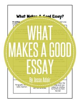 English Essay Writing 101: What Makes A Good Essay