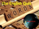 English Etymology Quiz for Students