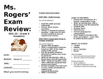English - Exam Review